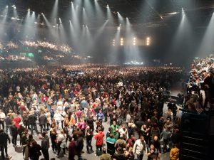 Crowd at Liam Gallagher gig