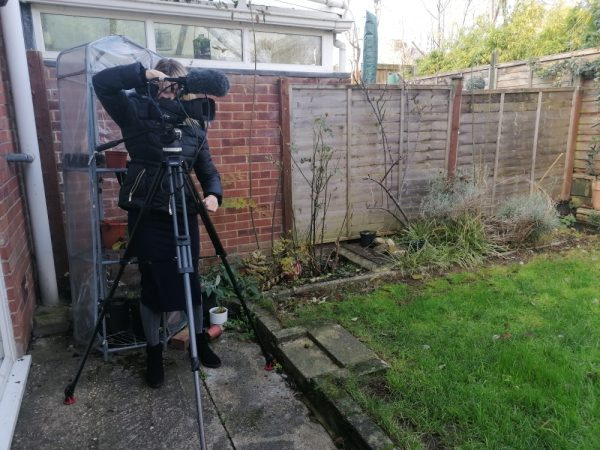 BBC South Today filming