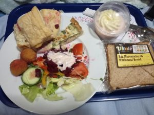 Christmas Day Buffet in Hospital