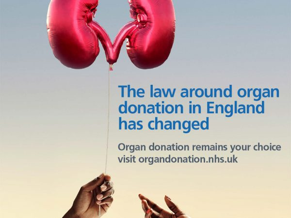Organ Donation - the law is changing